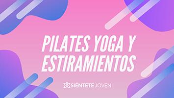 pilates yoga y estiramientos