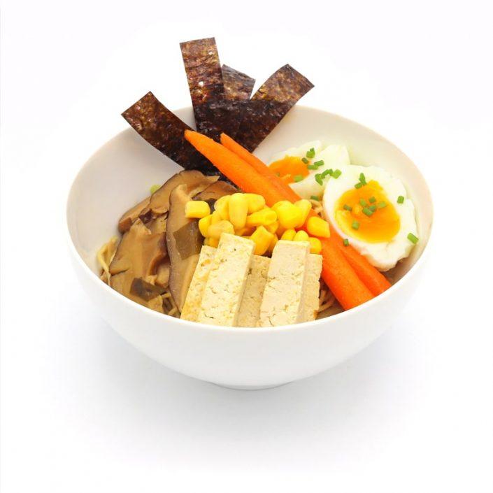 Ramen con tofu