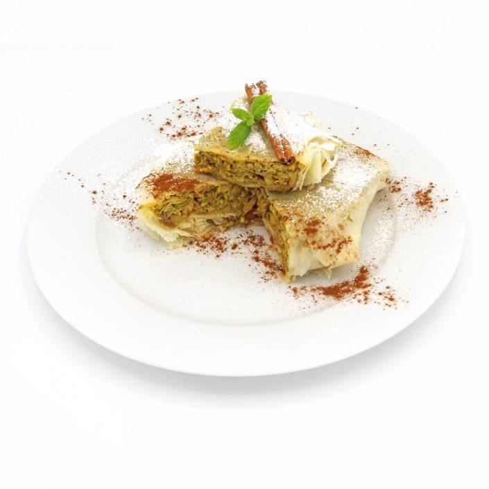 Pastela de pollo árabe light